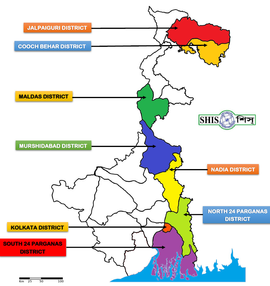 SHIS Project Areas